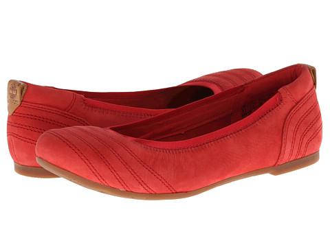 Timberland - Earthkeepers Ellsworth Ballerina (Red Nubuck) Women