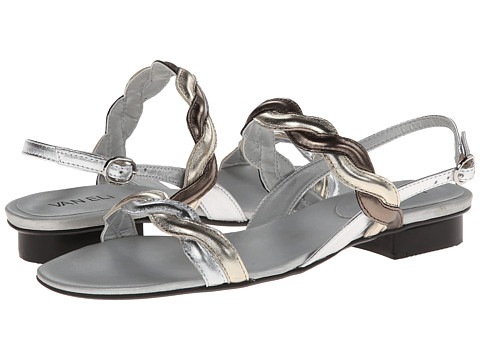Vaneli - Belle (Silver Met Nappa/Platino Met Nappa/Pewter Met Nappa) Women's Sandals