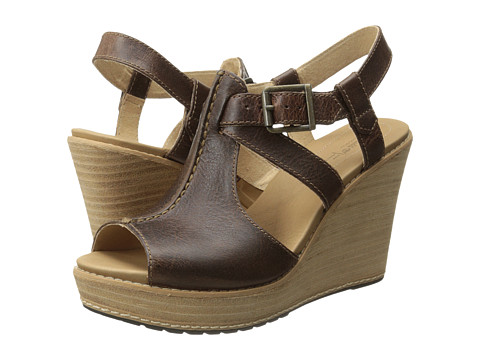 Timberland - Earthkeepers Danforth Ankle Strap (Dark Tan) Women's Shoes