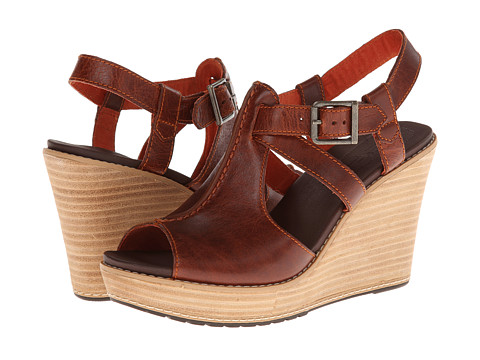 Timberland - Earthkeepers Danforth Ankle Strap (Burnt Orange) Women's Shoes