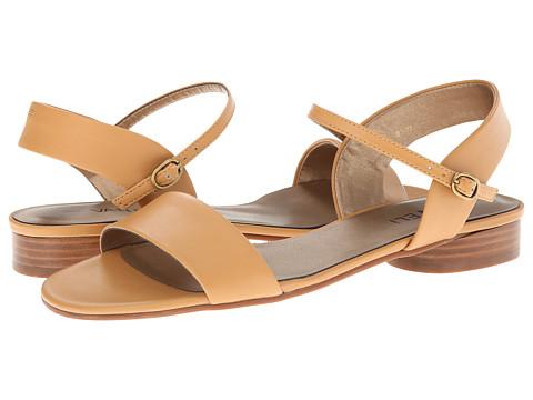 Vaneli - Berenice (Camel Glam Nappa) Women's Flat Shoes
