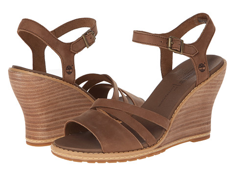 Timberland - Earthkeepers Maeslin Ankle Strap (Brown) Women's Shoes