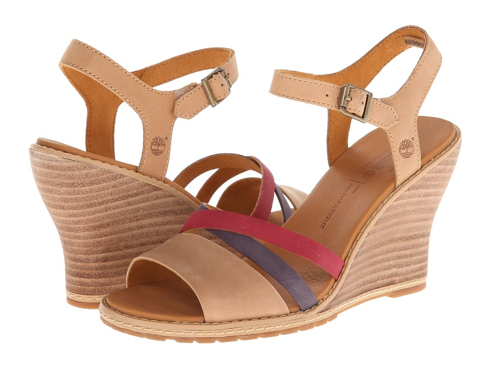 Timberland - Earthkeepers Maeslin Ankle Strap (Tan With Multi) Women