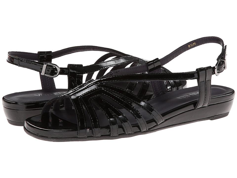 Vaneli - Bitya (Black Soft Patent) Women's Wedge Shoes