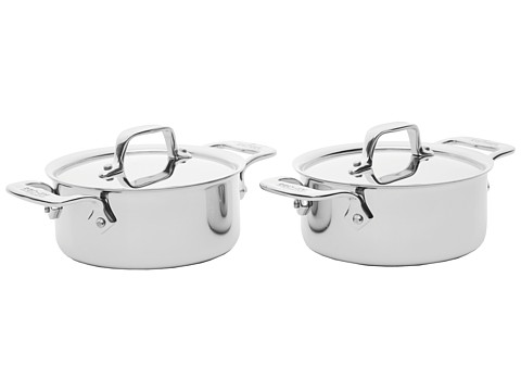 All-Clad Cocottes-Set of 2 (Stainless Steel) Cookware Sets