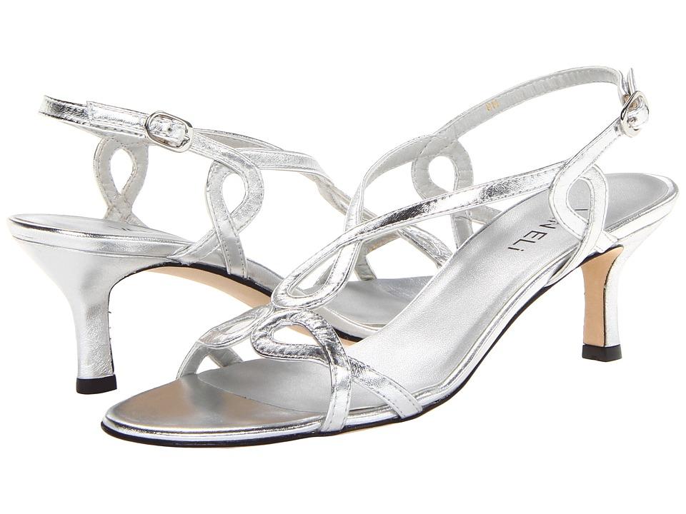 Vaneli - Milbie (Silver Met Nappa) High Heels