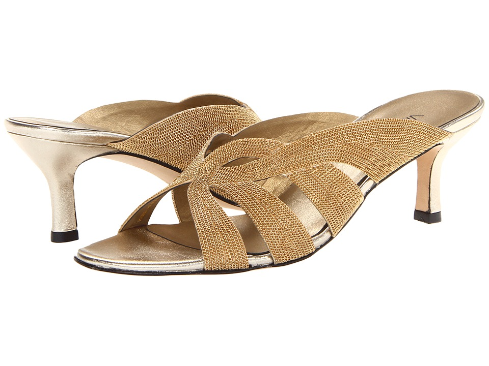 Vaneli - Milka (Platino Met Nappa/Gold Chain) High Heels