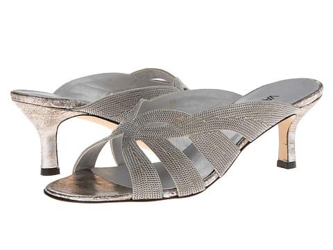 Vaneli - Milka (Pale Platino Gesa Kid/Silver Chain) High Heels