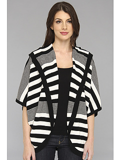 SALE! $164.99 - Save $198 on Autumn Cashmere Striped Dolman Hoodie (Black White) Apparel - 54.55% OFF $363.00