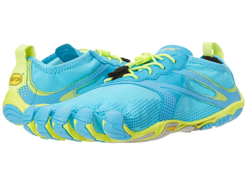 Vibram FiveFingers - V Run EVO (Blue/Green) Women's Shoes