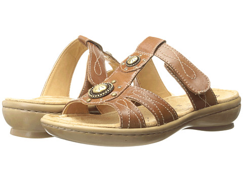 Naturalizer - Journie (Saddle Tan Leather) Women's Sandals
