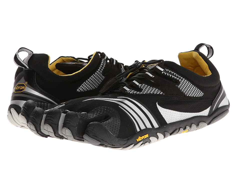 Vibram FiveFingers - KMD Sport LS (Black/Silver/Grey) Men's Shoes