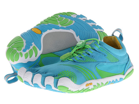 Vibram FiveFingers - KMD Sport LS (Blue/Green) Women's Shoes