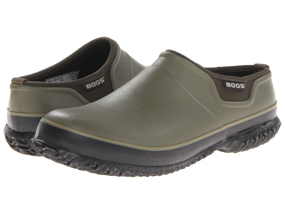 Bogs - Urban Farmer Slide (Olive) Men's Clog Shoes