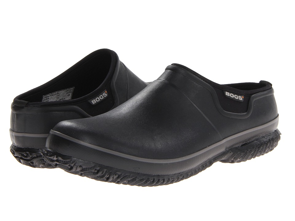 Bogs - Urban Farmer Slide (Black) Men's Clog Shoes