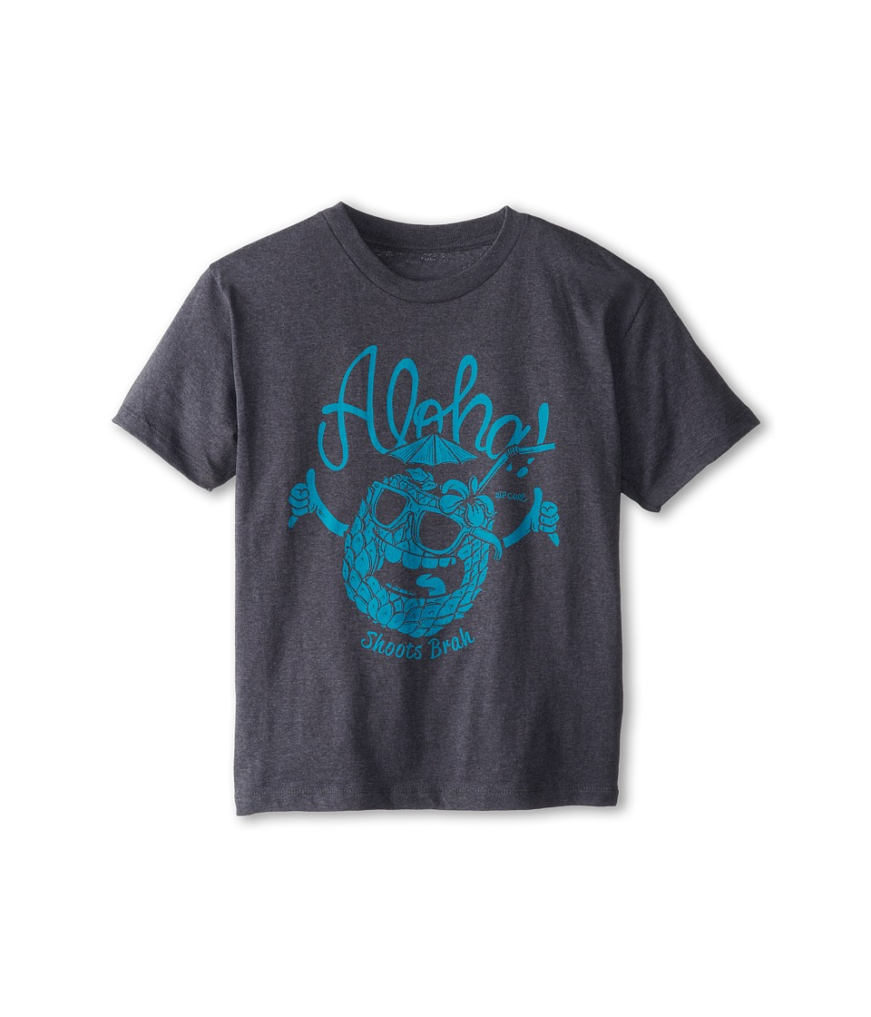 Rip Curl Kids Shoots Brah Heather Tee Boys T Shirt (Gray)