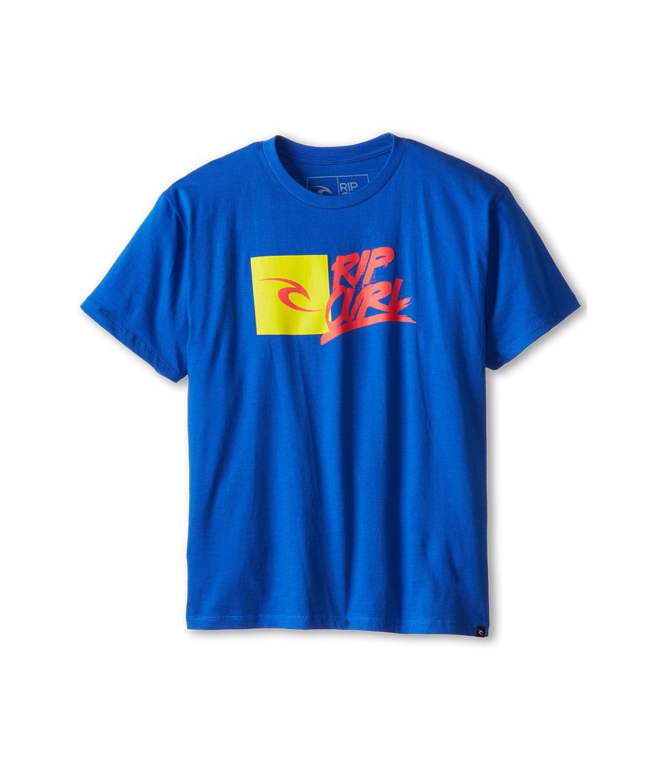 Rip Curl Kids Brash Youth Premium Tee Boys T Shirt (Blue)