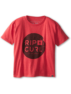 SALE! $11.99 - Save $10 on Rip Curl Kids Capital Heather Tee (Big Kids) (Red Heather) Apparel - 45.50% OFF $22.00