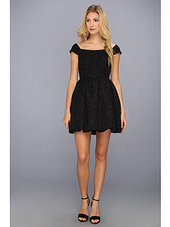 SALE! $121.99 - Save $66 on Jessica Simpson Off Shoulder Short Sleeve Bubble Skirt Dress (Black) Apparel - 35.11% OFF $188.00