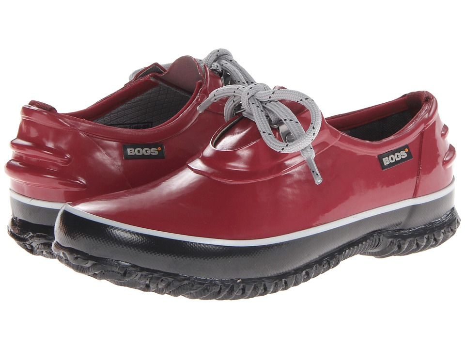 Bogs - Urban Farmer Shoe (Red) Women's Lace up casual Shoes