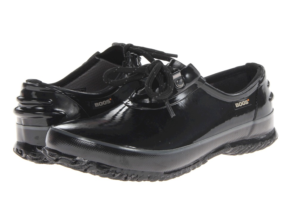 Bogs - Urban Farmer Shoe (Black) Women's Lace up casual Shoes