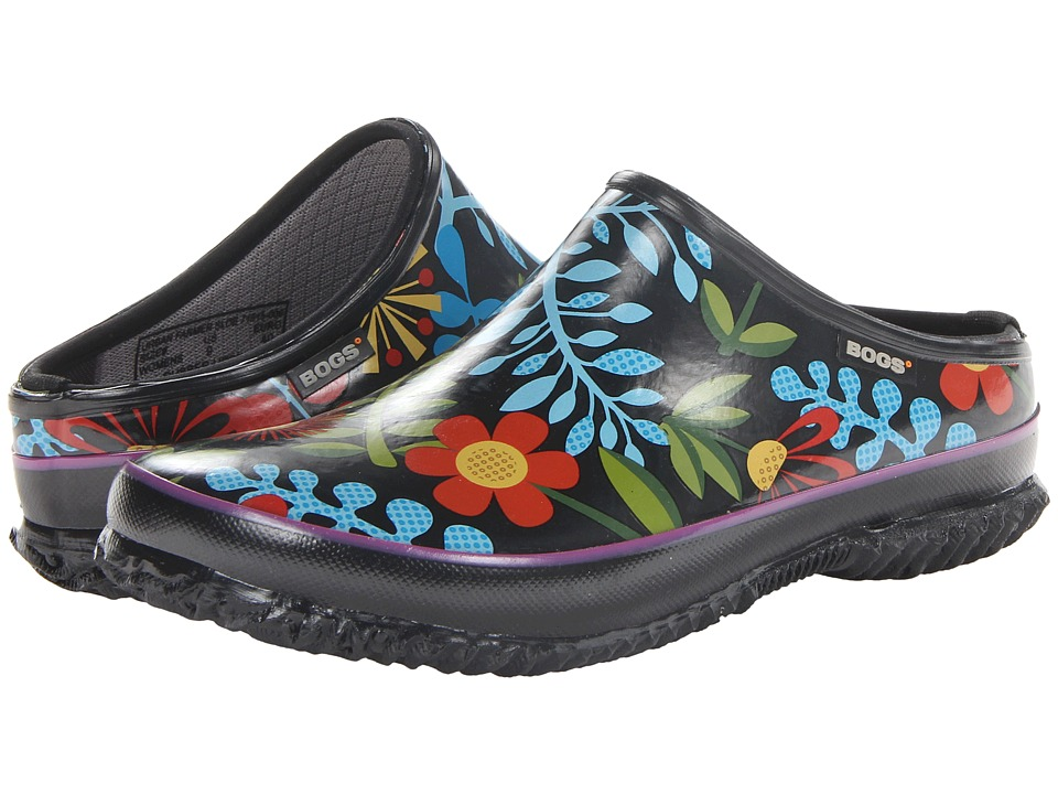 Bogs - Urban Farmer Clog (Black Multi) Women's Clog Shoes