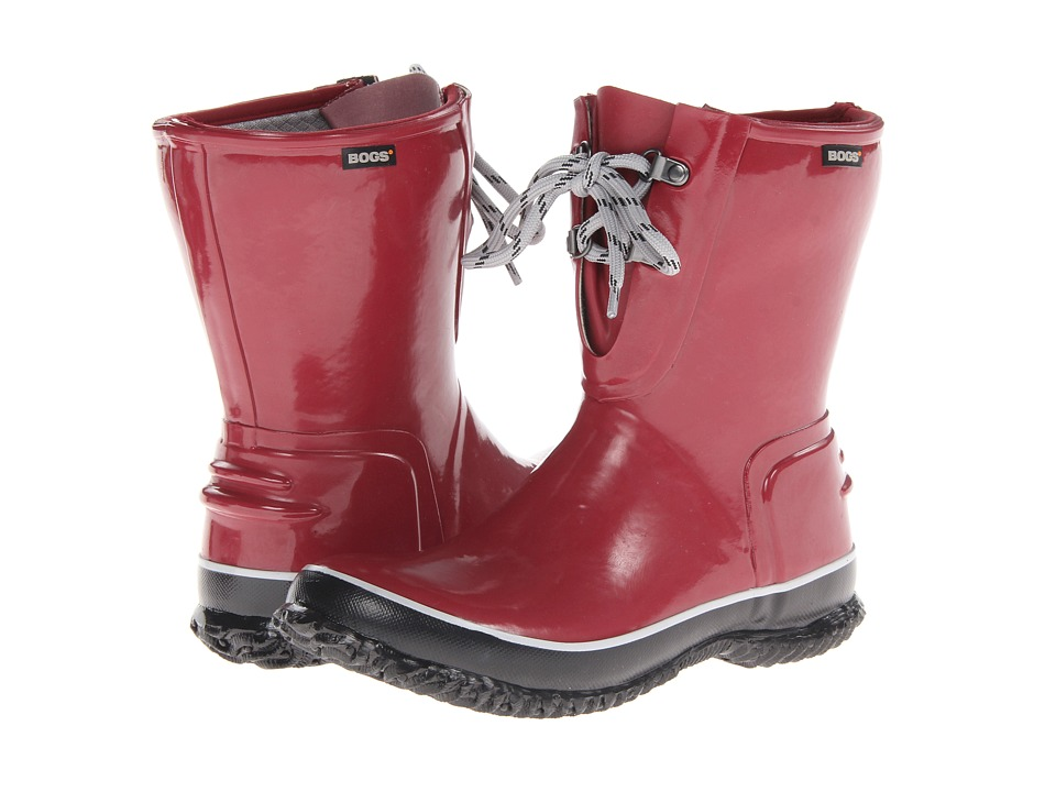 Bogs - Urban Farmer 2-Eye Lace (Red) Women's Work Boots