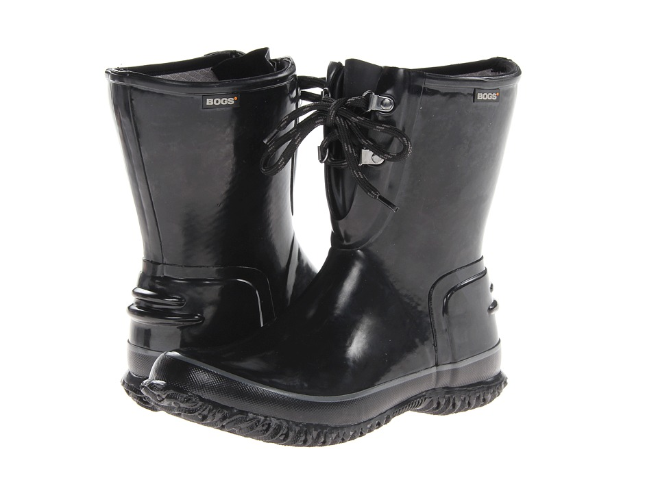 Bogs - Urban Farmer 2-Eye Lace (Black) Women's Work Boots