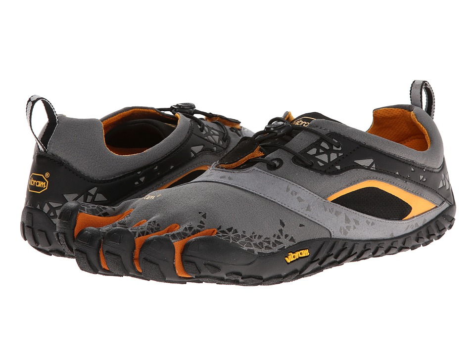 Vibram FiveFingers - Spyridon MR (Grey/Orange) Men's Running Shoes