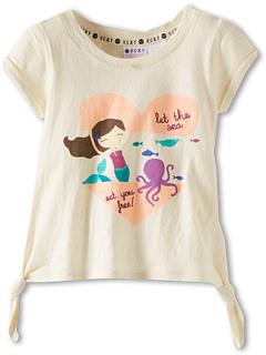 SALE! $14.99 - Save $13 on Roxy Kids Bloomfield Tee (Toddler Little Kids Big Kids) (Sea Spray) Apparel - 46.46% OFF $28.00