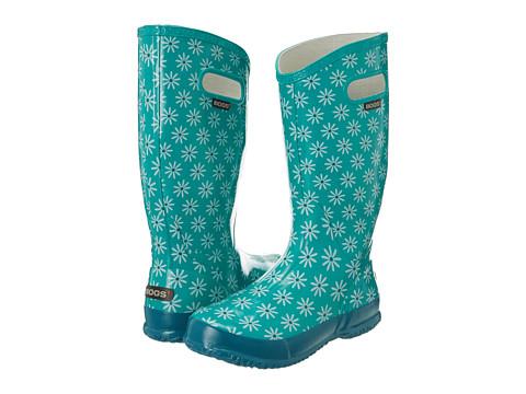 Bogs - Rainboot Daisy (Teal Daisy) Women's Rain Boots