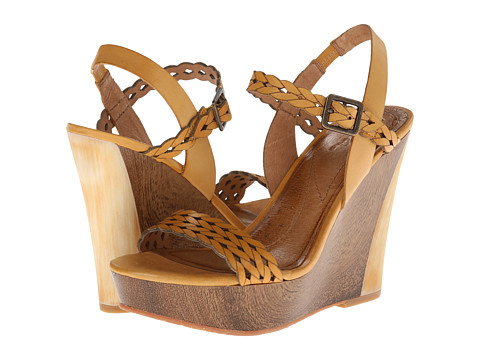 Naya - Bellina (Hot Mustard Leather) Women's Sandals