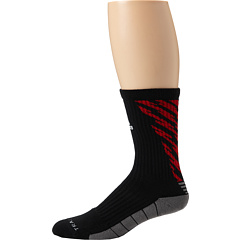 SALE! $9.99 - Save $5 on adidas Team Speed Traxion Shockwave Crew Sock (Black Medium Lead Light Scarlet White) Footwear - 33.40% OFF $15.00