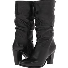 Steve Madden Lorreta (Black Leather) Footwear