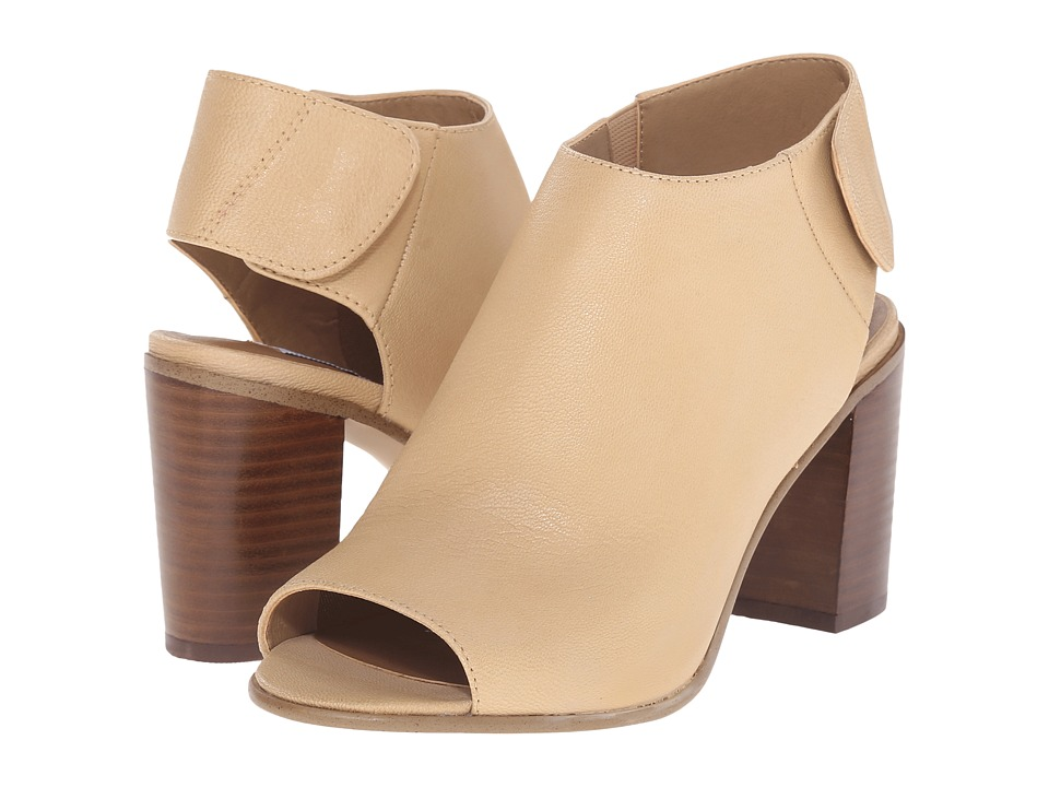 Steve Madden Nonstp Heel (Natural Leather) Women