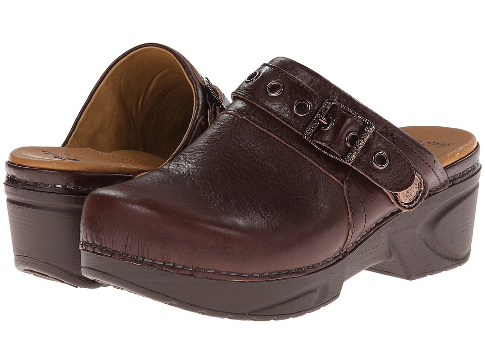 Nurse Mates - Casey (Brown Marble Patent) Women's Shoes