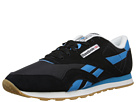 Reebok Classic Nylon R13 (Black/Blue Bomb/White/RBK Brass) Men's Running Shoes