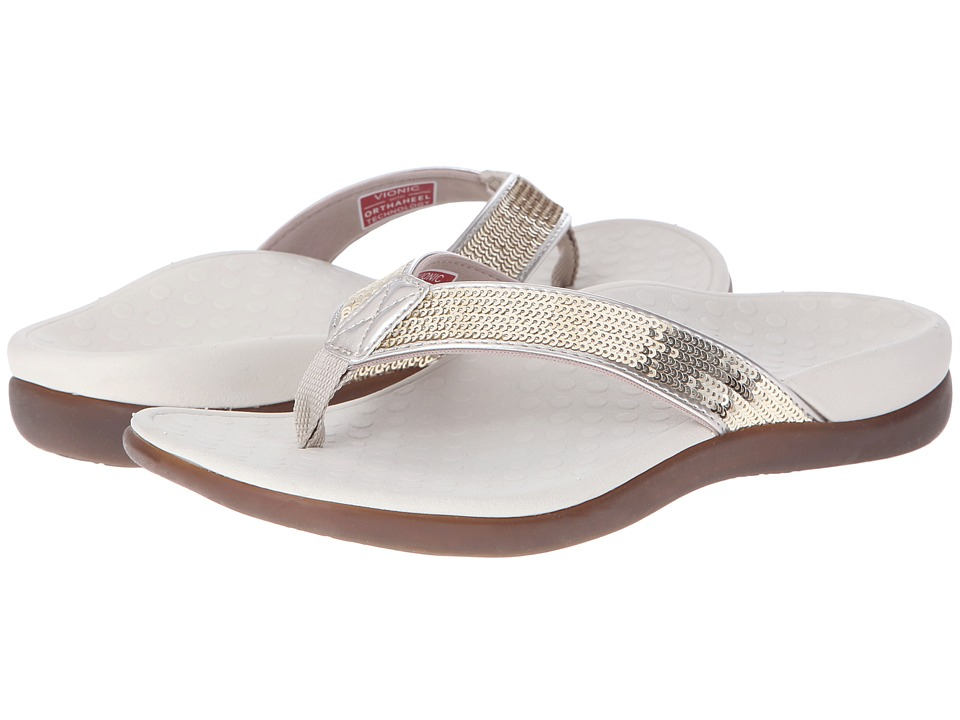 VIONIC - Tide Sequins (Gold) Women's Sandals