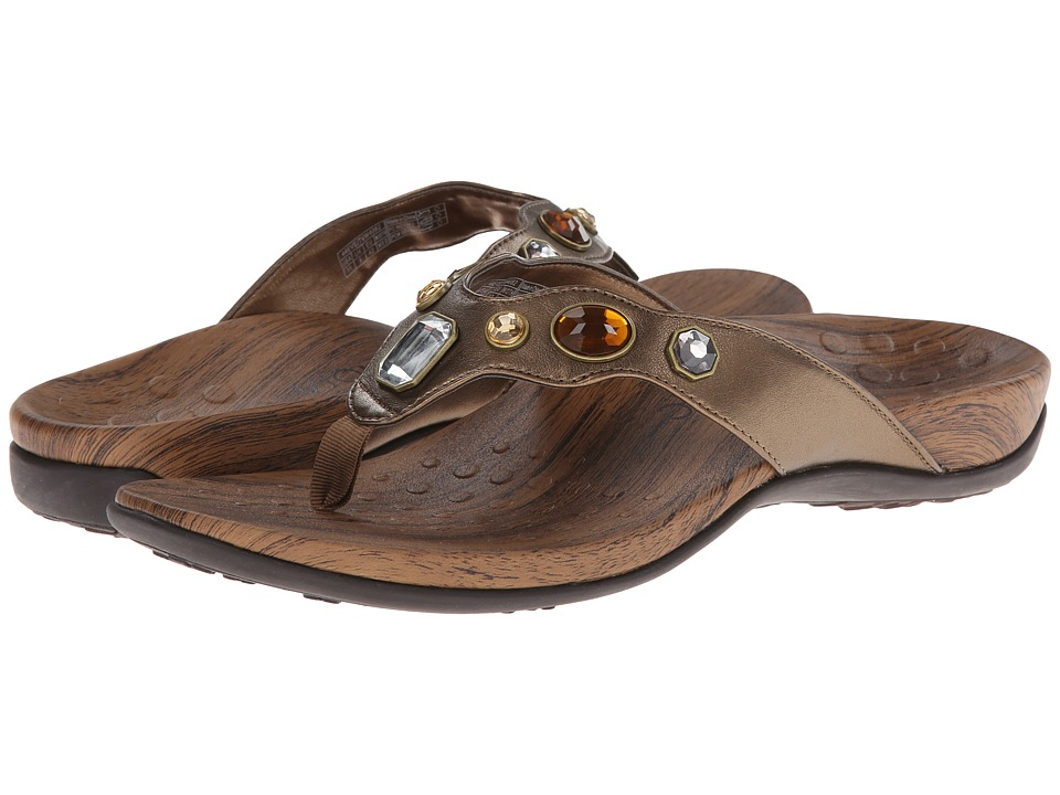 VIONIC - Eve (Bronze Metallic) Women's Sandals