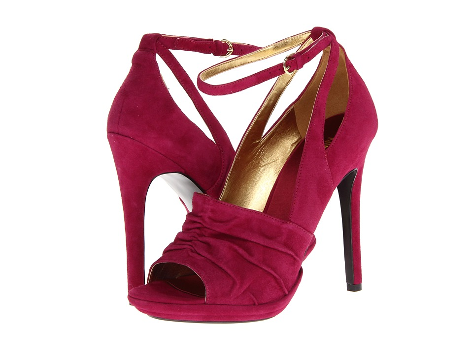 Nine West - Hallee (Red Suede) High Heels