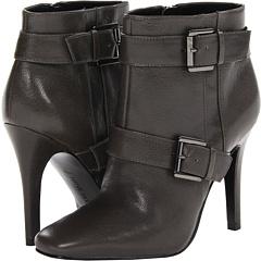 Nine West Laga (Dark Grey Leather) Footwear