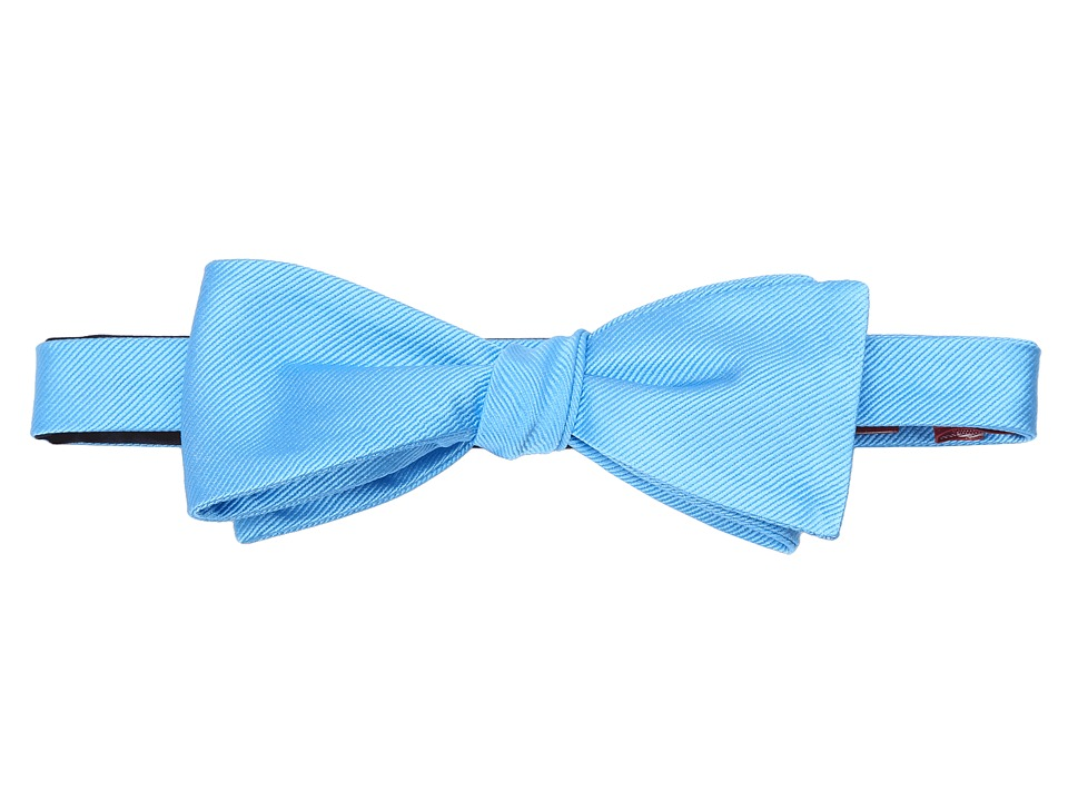 Original Penguin - Baron Solid To-Be-Tied Bowtie (Blue) Ties