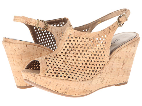 Vaneli - Emmie (Natural Cork) Women's Wedge Shoes