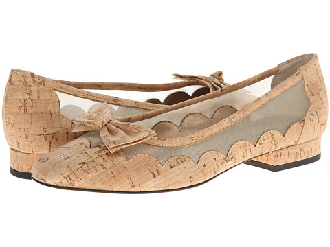 Vaneli - Florice (Natural Cork/Beige Mesh) Women's Flat Shoes