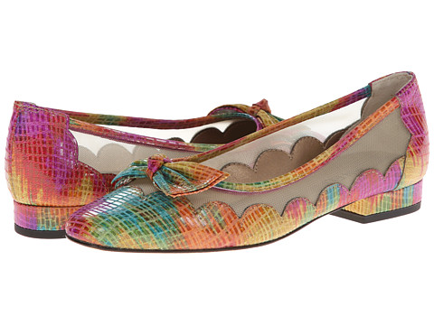 Vaneli - Florice (Multi Fushia Blix Squama Prt/Beige Mesh) Women's Flat Shoes