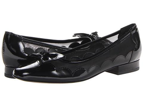 Vaneli - Florice (Black Mag Patent/Black Mesh) Women's Flat Shoes