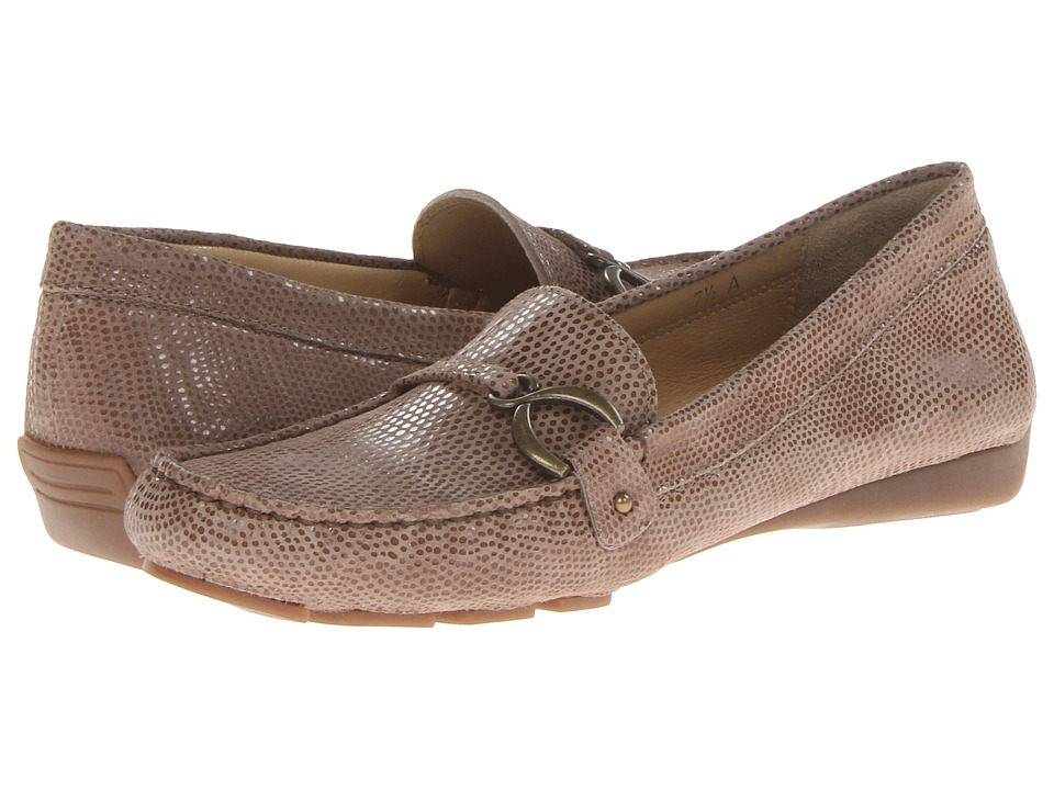 Vaneli - Rummy (Lt. Taupe E-Prt/Mtch Stitch/Ant Gold) Women's First Walker Shoes