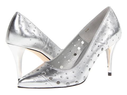 Vaneli - Skinny (Silver Met Nappa) High Heels
