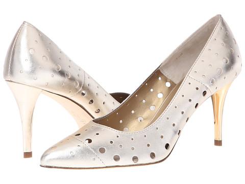 Vaneli - Skinny (Platino Met Nappa) High Heels