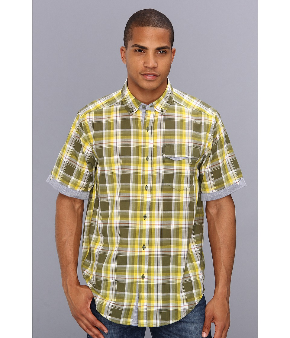 ExOfficio - Freiburg Short Sleeve (Algae) Men